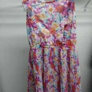 The Childrens Place Floral Dress as 7/8